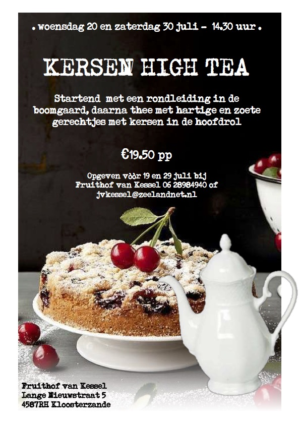 Poster kersen high tea kopie